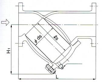 SY-40过滤器尺寸图